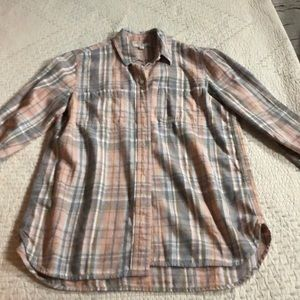 Madewell flannel shirt